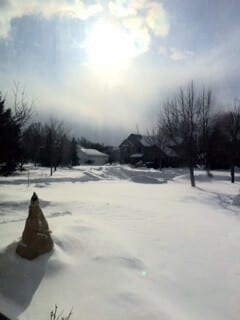 Bright Snow Glare Triggers Migraine